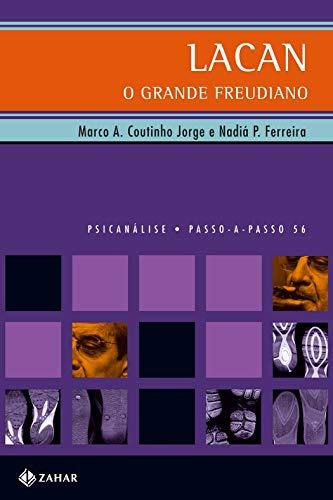 Capa de Livro: Lacan, o Grande Freudiano (Passo-a-Passo) - JORGE, M